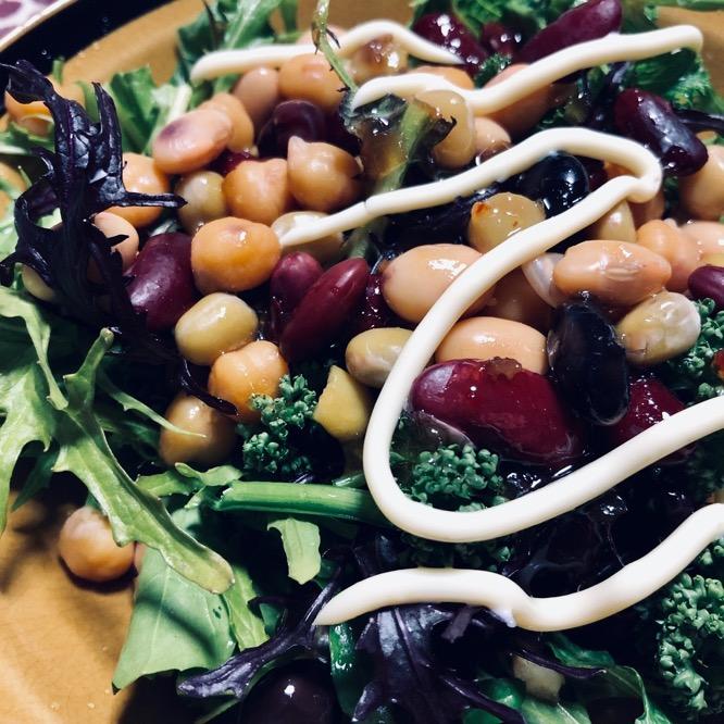 豆野菜サラダ